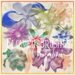 FlowersBrushes  Photoshop by Xantipa2-Stock