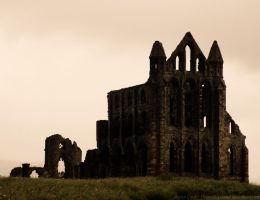 Whitby Abbey by dramaticpeanut