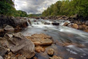 River in Norway by khmaria