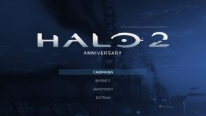 Halo 2: Anniversary Menu Concept by DANYVADERDAY