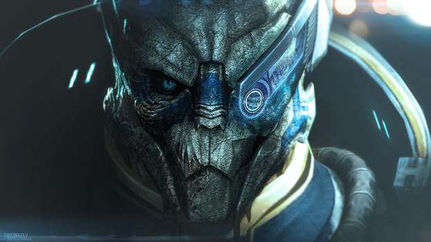 Archangel | Mass Effect by TakeOFFFLy