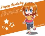 Happy Birthday Honoka ! by Yuries