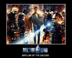 Doctor Who - Asylum of the Daleks by DoctorWhoOne