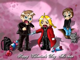 Valentine's day card by mkozmon