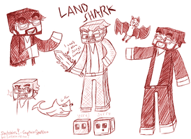 Sketchies! - CaptainSparklez by 1WebRainbowe1