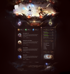 Fantasy World Website Template by DKartsStudio