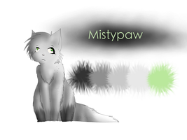 Mistypaw Ref. by son-zu
