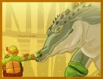 How To Train Your... Leatherhead? by TheColdSoul1888