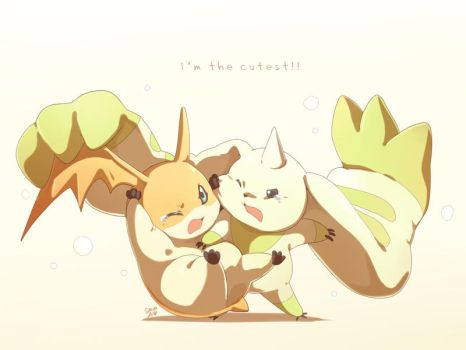 Digimon - I'm the cutest!!! by moremindmel0dy