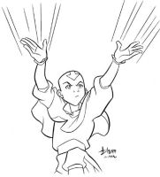 Aang - Avatar by howardshum