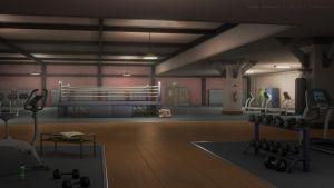 Boxing Gym by JakeBowkett
