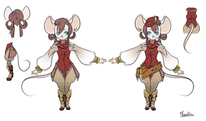 Mouse design for Desiree-U by Moenkin