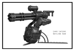 Gatling Gun by snaplat