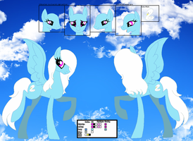 Swan Feather's official reference sheet by Starlollipop