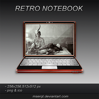 Retro Notebook by msergt