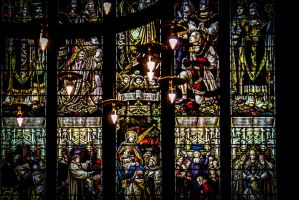 Holy Stained Glass by LostChemist