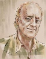 Kenneth Colley sketch by darefi