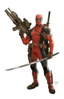 Deadpool by Dan-Mora