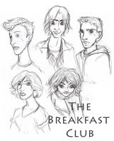 The Breakfast Club by c-t-supahfly
