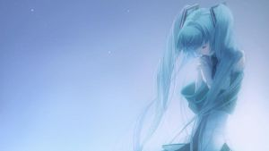 Hatsune Miku Background by PinkAura8