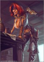 Adjanah the Pirate - FINISHED by RobertFriis