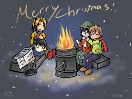 FMA - TC - Christmas 2009 by ChibiEdo