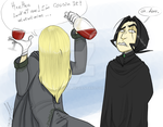 Lucius: Too much wine by gilll