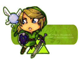 Link - chibiss time by Eris-e
