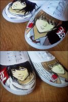 Death Note Shoes by CavOlaa