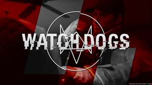 Watch_Dogs Wallpaper RED by XM94