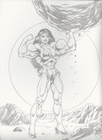 She Hulk Boulder by up2nogd1