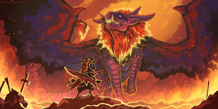 Emperor of Flame by Chromamancer