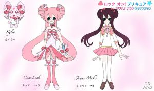 Lock on! Precure:Cure Lock by SilverRose808