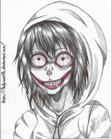 Jeff The Killer by ladycastilla