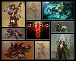 Diablo 3 Artwork 10.2008 by mchenry