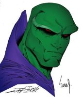 Martian Manhunter by demonplague