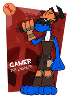 [TF2 Cartoon] Gamer, The Engineer by McTaylis