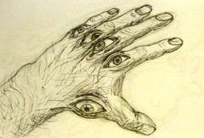 Eyeball Hands by foreign-body