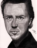 Edward Norton by Jon-Wyatt