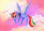Rainbow Dash by OrcaCookie
