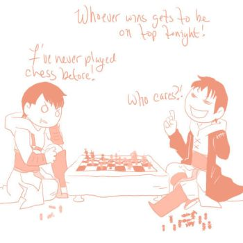 A game of Chess by YazooPower