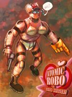 Atomic Robo in Tighty Whities by axl99