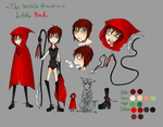 Little Red character sheet by LouisDelacroix