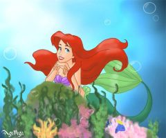 Daydreaming Ariel by AgiVega