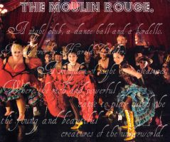 The Moulin Rouge by wendydarling89