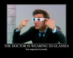 The Doctor's 3D glasses by TheWorldIsAVampire8