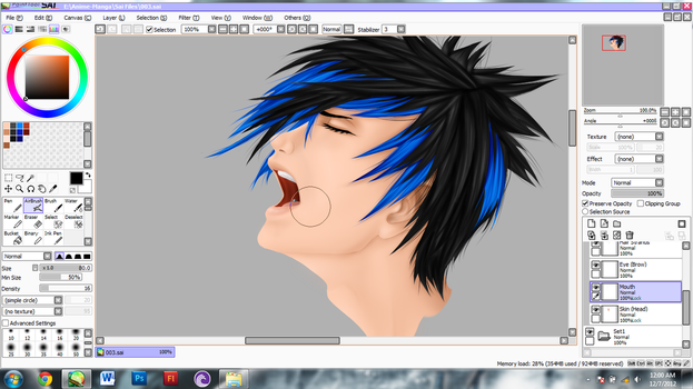 WIP - Josh Ramsay II by theShionProject