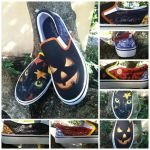 Halloween shoes by songbirdholly