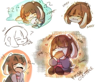 Frisk Overtale by Acane2