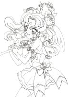 ::Lineart:: New Sailormoon by shiorimaster